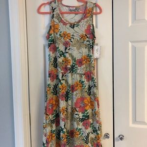 Floral LuLaRoe Summer Dress M NWT
